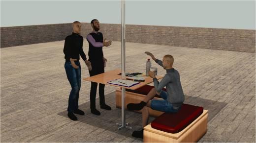 Kaget bukan kepalang ternnyata mantan bosnya dan  Tami datang berkunjung.